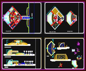 طراحی موزه نمایشگاه آبزیان