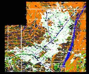 دانلود رایگان فایل اتوکدی نقشه شهر دورود