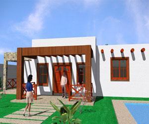 طراحی سه بعدی ویلای مسکونی در اتوکد به همراه چهار رندر