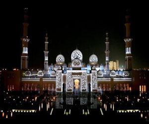 فیلم نورپردازی مسجد شیخ زائد(رایگان)