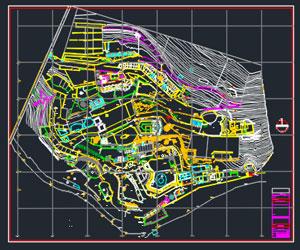طراحی پلان باغ وحش در اتوکد