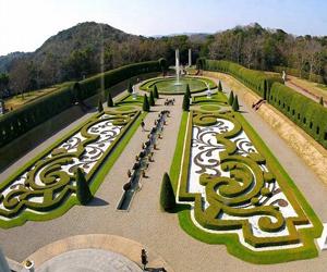 پاورپوینت تاريخچه باغهای اروپايی