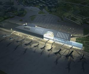 طراحی 3D MAX فرودگاه