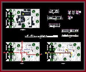 طراحی مرکز تفريح و سرگرمی رستوران،بدنسازی،استخر