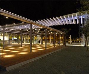 دانلود پاورپوینت نور پردازی در فضای باز