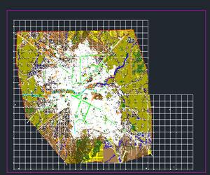 دانلود نقشه اتوکدی شهربانه