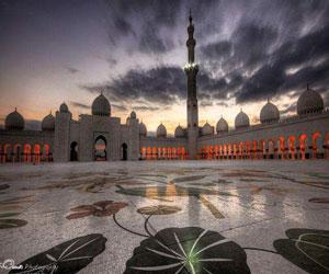 پاورپوینت مسجد شیخ زاید سومین مسجد بزرگ جهان