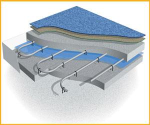 پاورپوینت آشنایی با سیستم گرمایش از کف