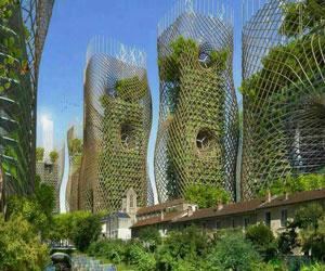پاورپوینت معماری سبز برخاسته از معماری پایدار و توسعه پایدار